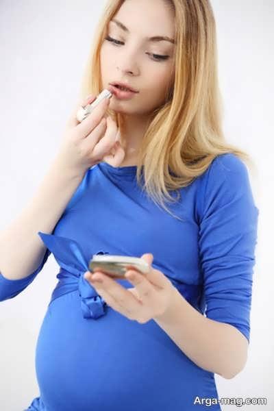 رژ لب در بارداری