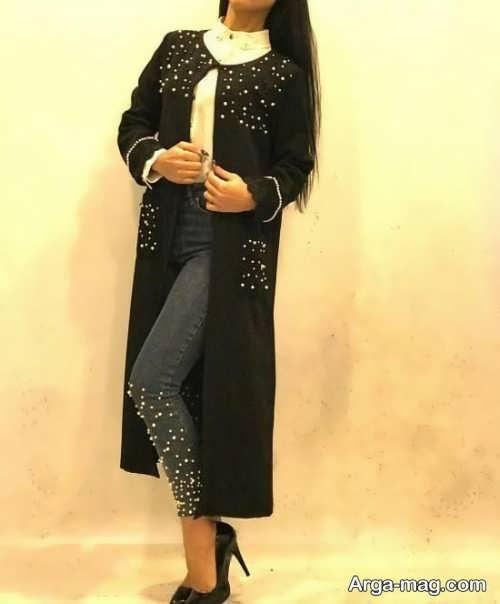مدل مانتو دخترانه بلند