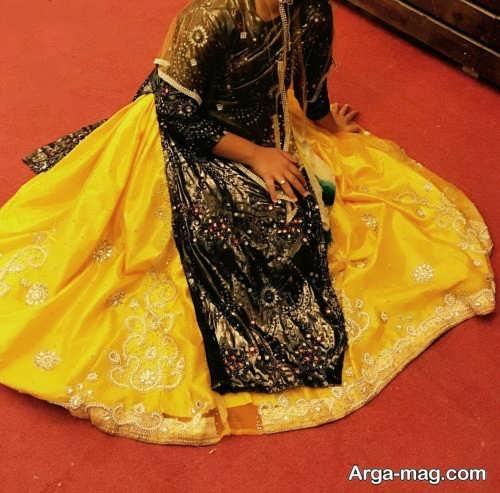 لباس لری شیک و زیبا زنانه
