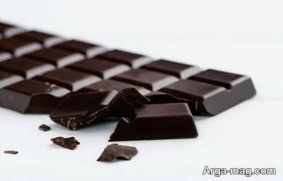 افزایش وزن با شکلات تلخ