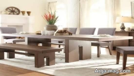 میز ناهار خوری مدرن و جدید