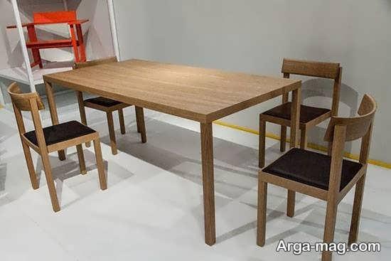 طراحی جدید میز ناهار خوری