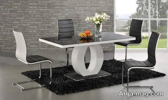 طراحی میز ناهار خوری MDF