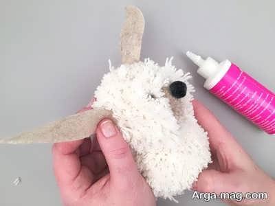 ساخت گوش عروسک سگ