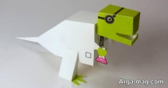 <strong>کاردستی</strong> بامزه <strong>دایناسور</strong>