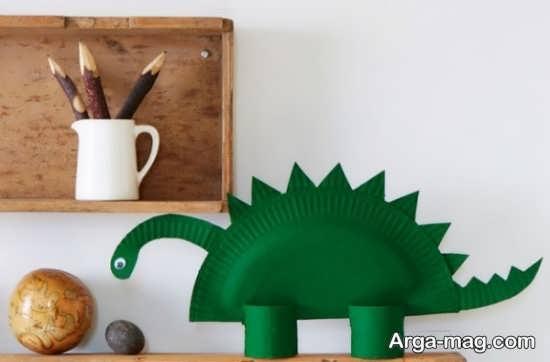 کاردستی زیبای دایناسور