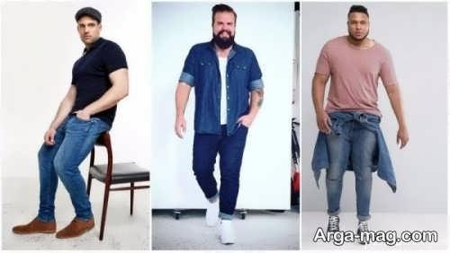 لباس مردانه مناسب افراد چاق
