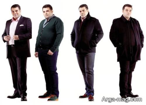 تیپ رسمی برای آقایان چاق