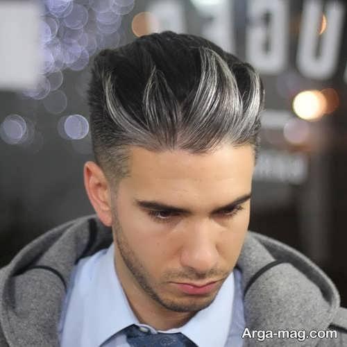 مدل موی شیک و خاص مردانه