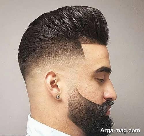 مدل موی زیبا و سایه روشن مردانه