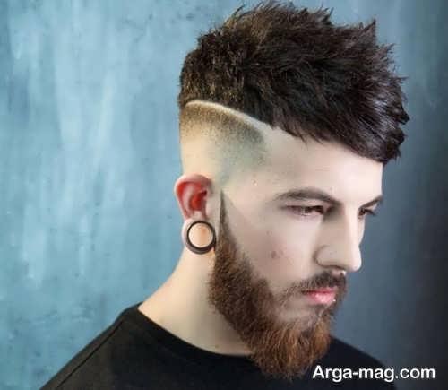 مدل موی شیک سایه روشن مردانه