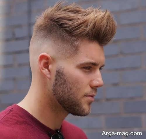 مدل موی زیبا و شیک سایه روشن مردانه