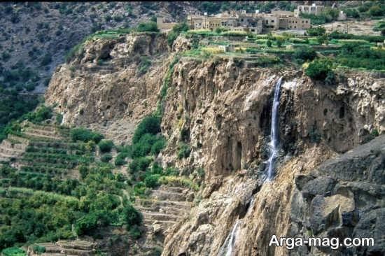 مناطق سرسبز عمان