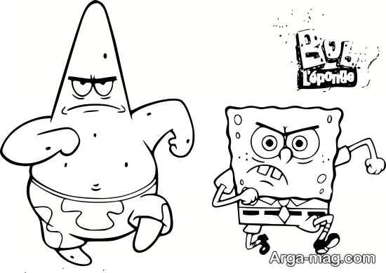 نقاشی جنجالی پاتریک