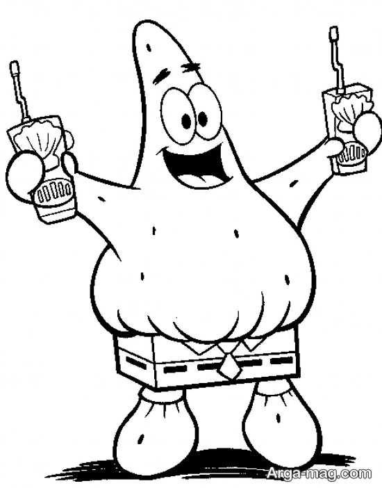 نقاشی بانمک پاتریک