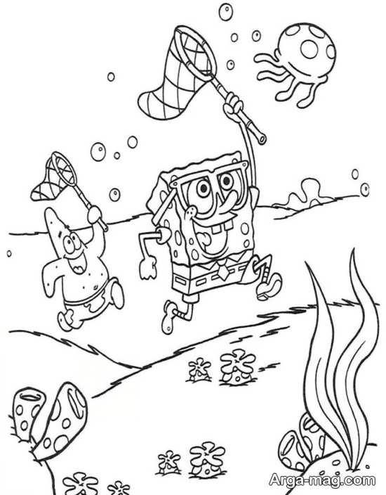 ایده جالب نقاشی کردن پاتریک