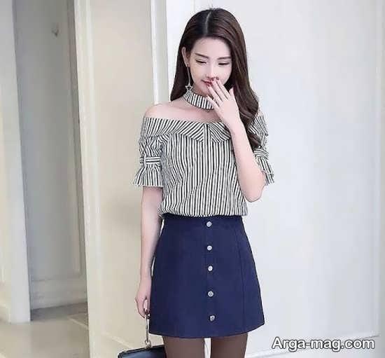 مدلی از لباس مجلسی دخترانه زیر ۱۵ سال