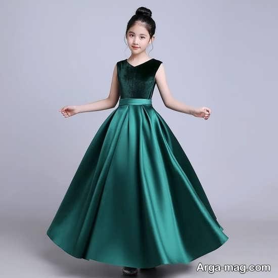 انواع لباس مجلسی دخترانه زیر ۱۵ سال