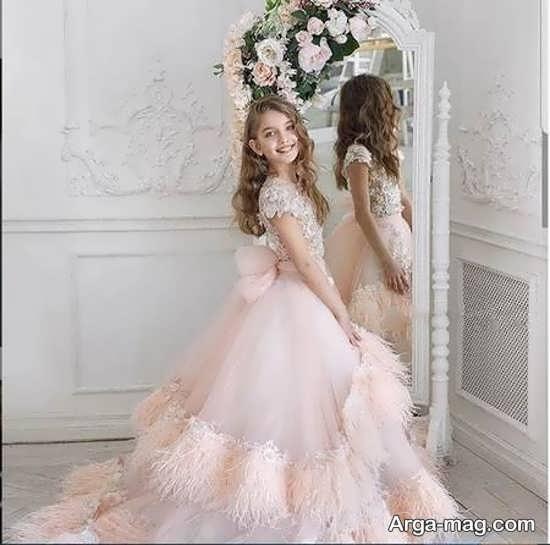 لباس مجلسی دخترانه زیبا زیر پانزده سال