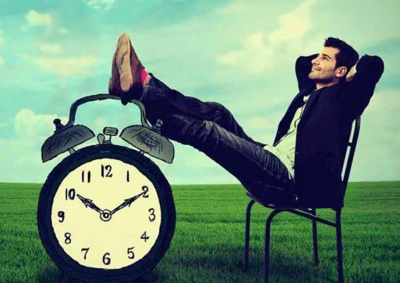 تعویق انداختن کارها در فرصت های طولانی