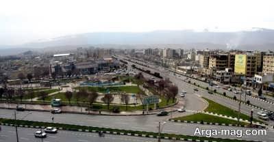 منظقه های شهری شیراز