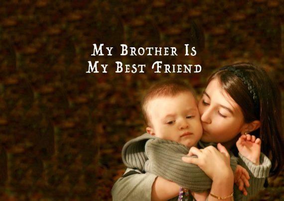 عکس نوشته درباره برادر