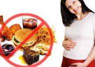مواد غذایی ممنوعه در بارداری
