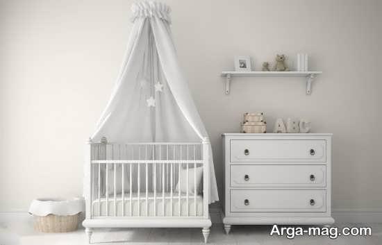 دکوراسیون کمتر دیده شده اتاق نوزاد پسر
