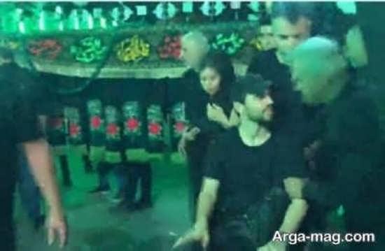لئوناردو پادوانی در مراسم عزاداران حسینی