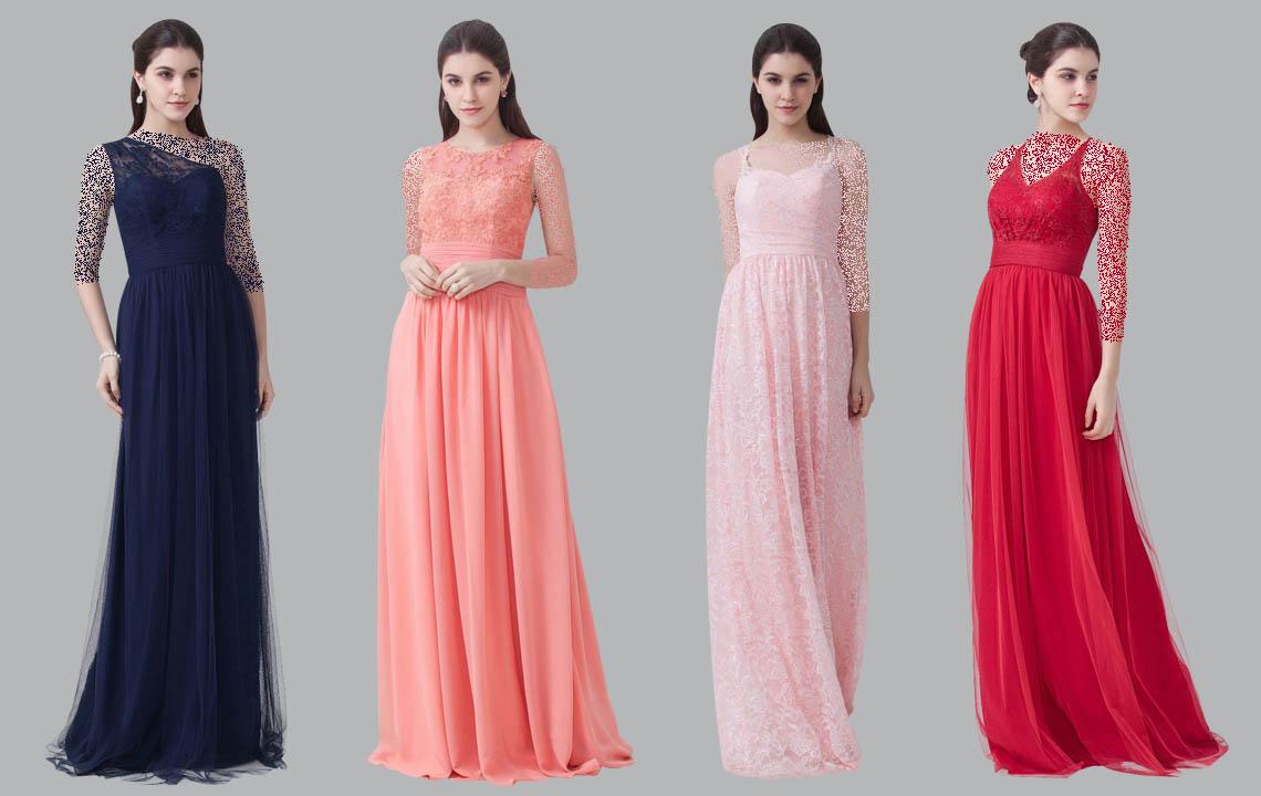۳۰ مدل لباس مجلسی خواهر داماد با استایل های خاص و لاکچری