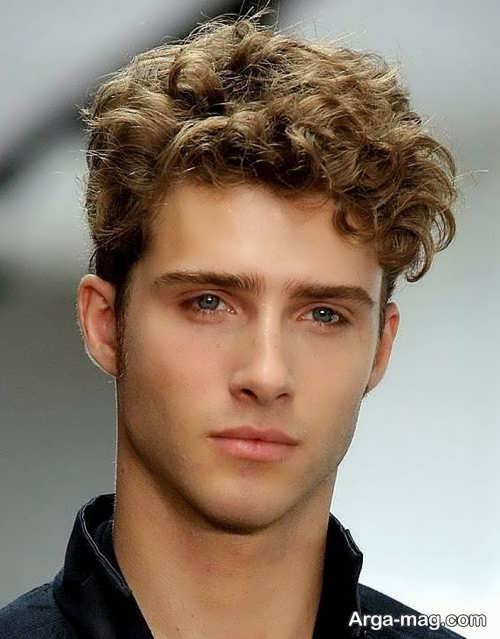 مدل موی فر پسرانه