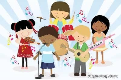 طریقه آموزش دادن موسیقی به کودکان