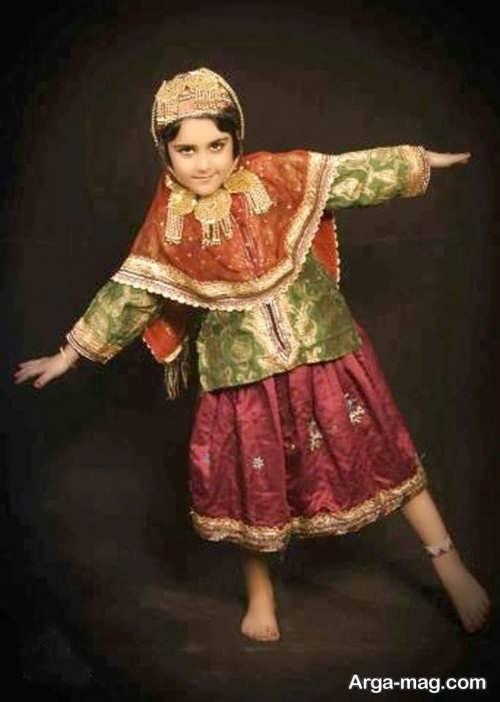 مدل لباس سنتی بچه گانه