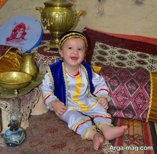 لباس سنتی بچه گانه پسرانه