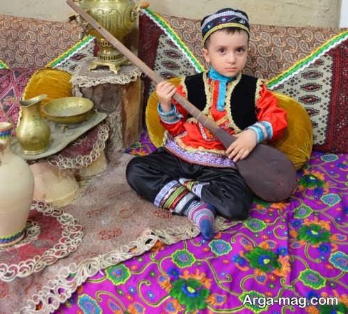 مدل لباس سنتی زیبا و شیک