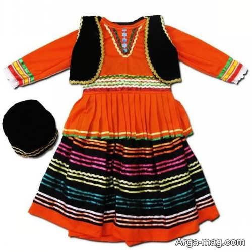 مدل لباس سنتی بچه گانه شیک