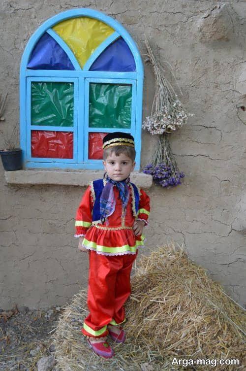 مدل لباس سنتی بچه گانه پسرانه