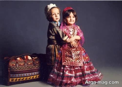 مدل لباس سنتی دخترانه و پسرانه