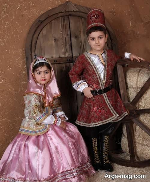 مدل لباس محلی پسرانه و دخترانه
