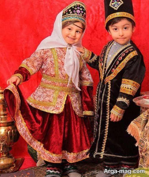 مدل لباس شیک و زیبا سنتی