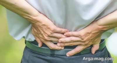 انقباض عضلات کمر