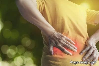 کاهش اسپاسم کمر