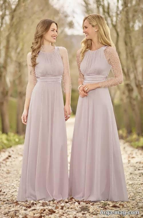 مدل لباس ست مجلسی دو خواهر