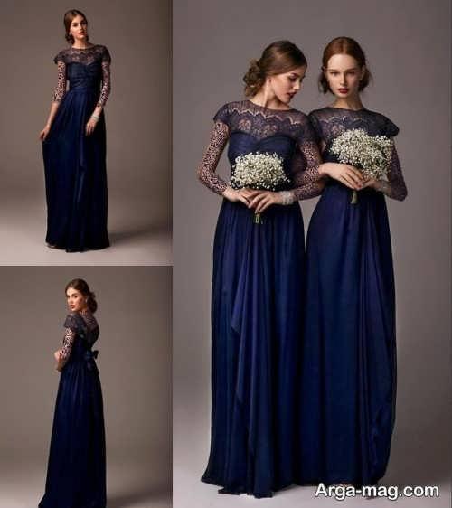 مدل لباس مجلسی بلند ست