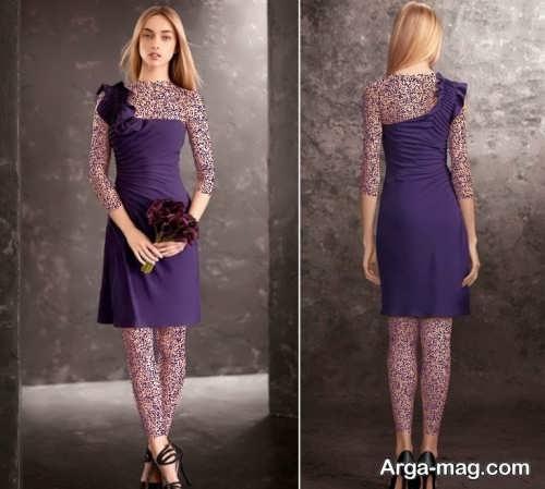 مدل لباس مجلسی شکی و کوتاه