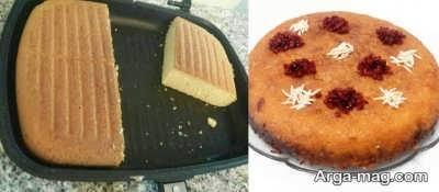 تهیه کیک تابه ای در منزل