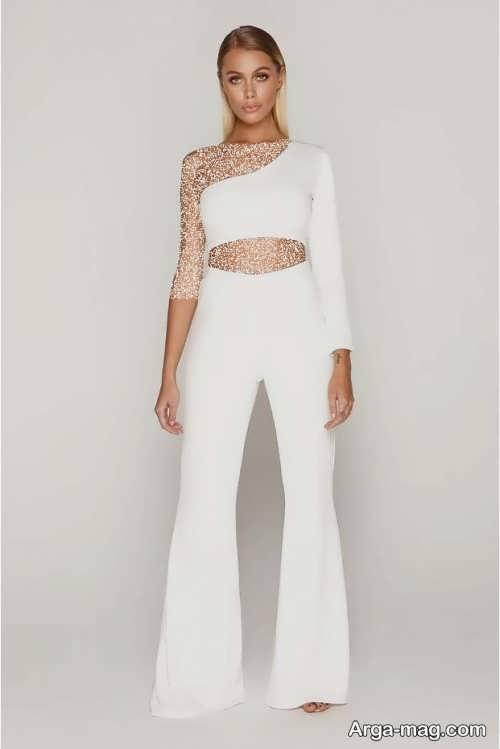 مدل شلوار سفید و زیبا