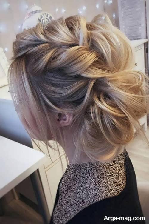 مدل موی شیک و زیبا مجلسی