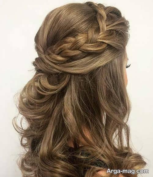 مدل مو همراه با بافت مو
