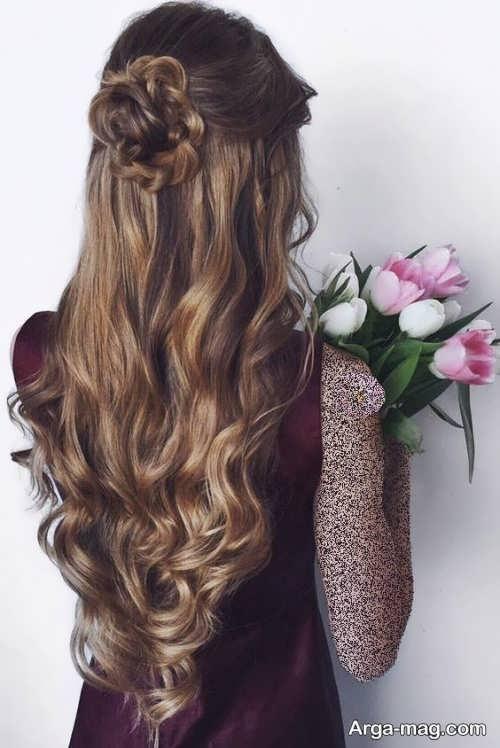 مدل موی باز زنانه